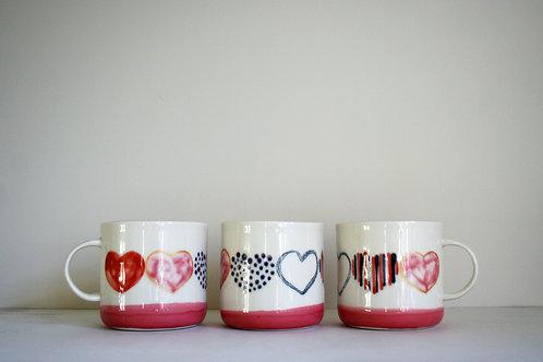 Love Mug- Pink/Red/Purple