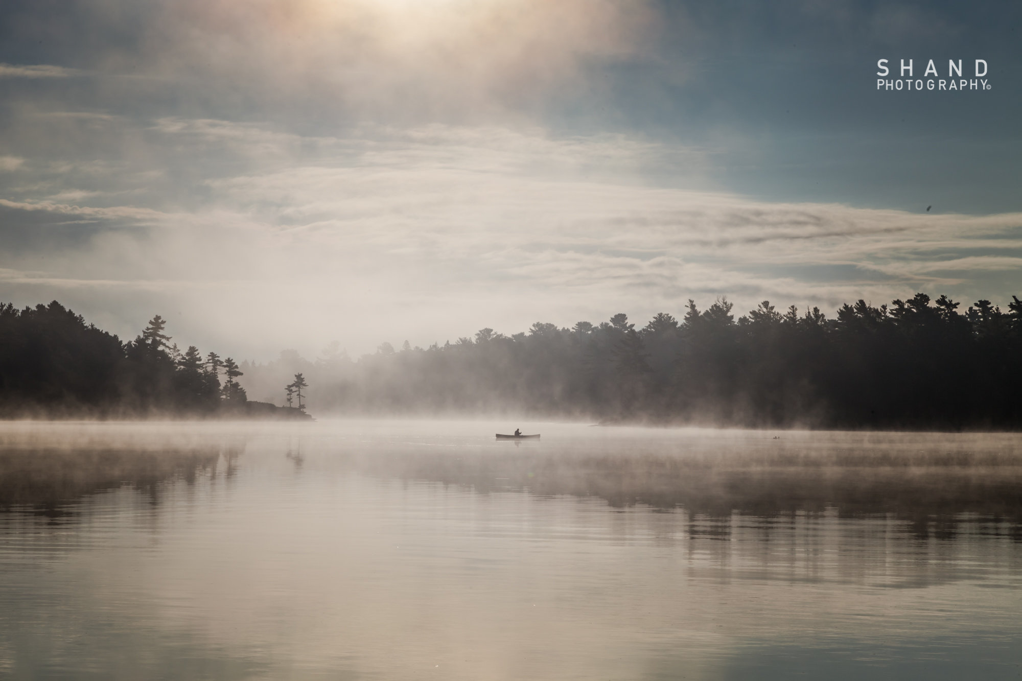 Morning Paddle in the Mist