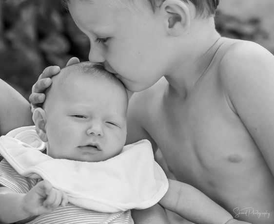 caring for the little one