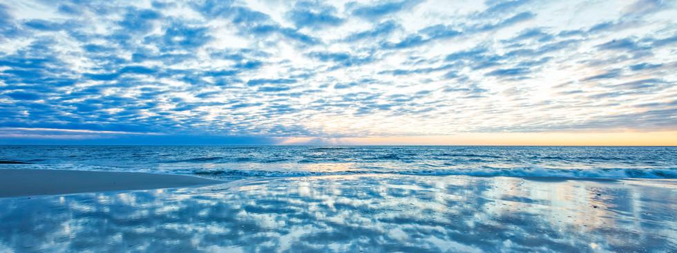 Blue Hour on the beach