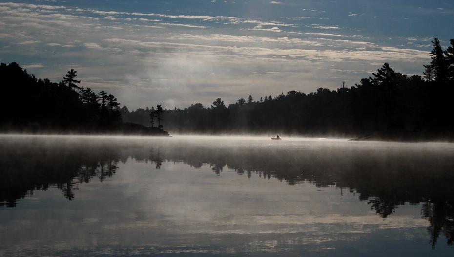 Paddle at sunrise