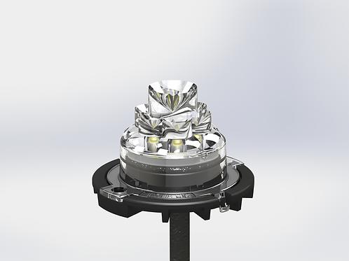 Vertex 360 Side Emitter Lighthead