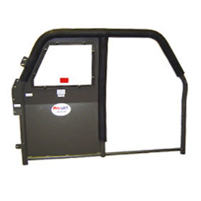 Pro-Cell Single Prisoner Half Partition with Full Roll Bar