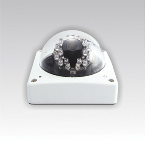 Dome CCD Camera with Night Vision and Audio