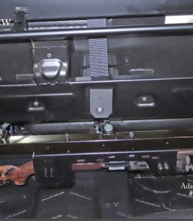Gun Rack on 2020 Polaris Ranger