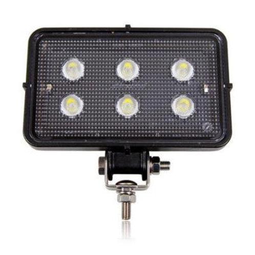 1,550 Lumen Rectangular LED Worklight, 12-36 VDC