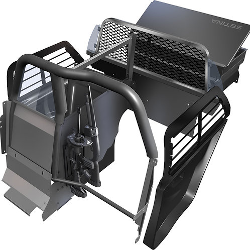 Single Prisoner Transport Solution for Ford Interceptor Utility