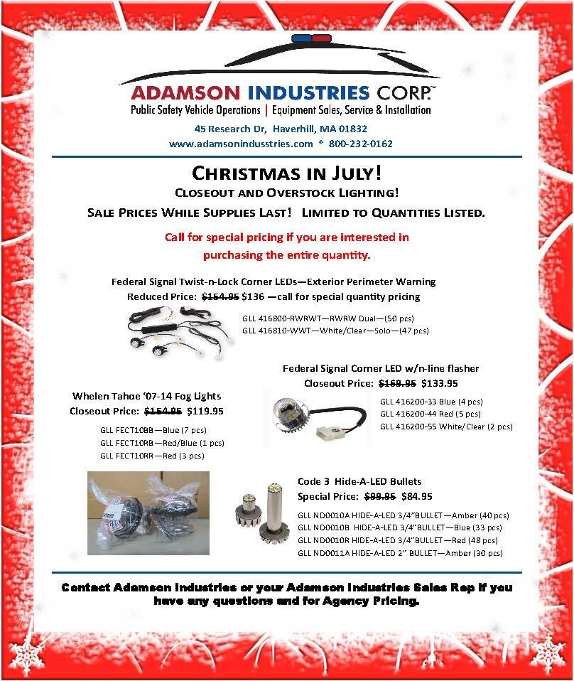 Adamson Industries Product Spotlight - C