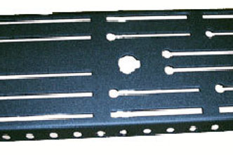 """Switchrite Console 19"""" Floor Plate"""