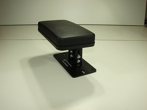 Armrest with Telescopic Post Tilt/Swivel