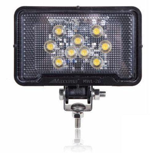 Rectangular Light Weight 500 Lumen 9 LED Work Light