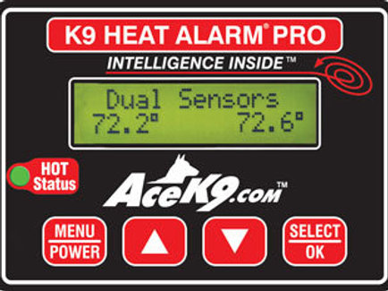 K9 Transport Heat Alarm Unit Option