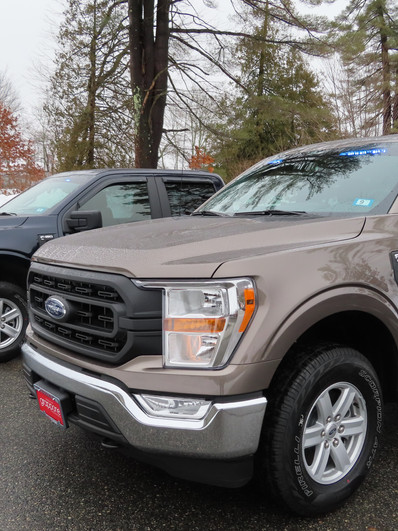 2021 F150's with Fed Sig Pathfinder and Light Pkg