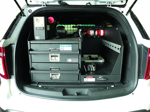 Ford Interceptor Utility Dual Drawer Storage System Kit