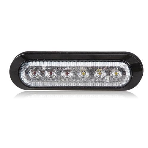 6 LED Surface Mount Emergency Warning Light