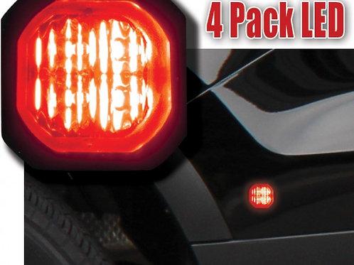 4-Pack LED H-A-B