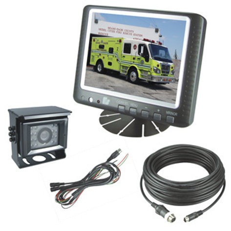 "Rear View Camera System with 5.6"" Monitor"