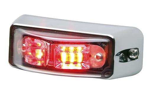 LINV2 V-Series Lighthead Chrome Flange
