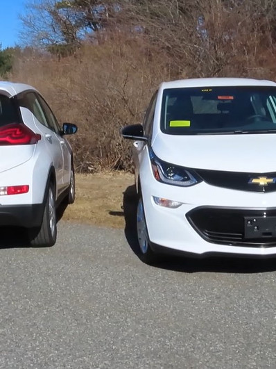 Chevy Bolt EV's with SOS Lights