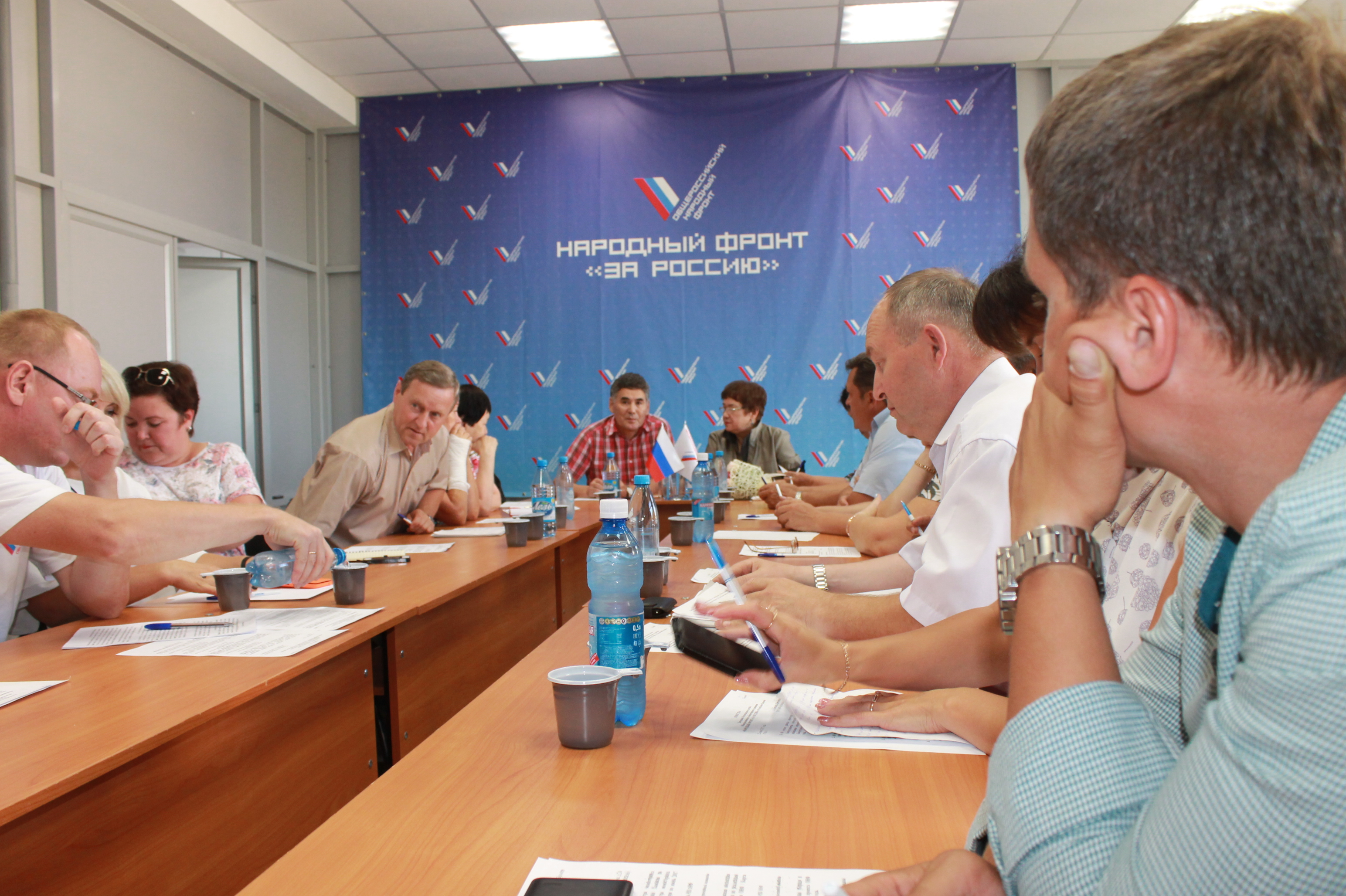 Визит Н.С. Максимовой в Хакасию