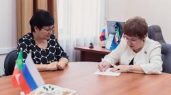 Встреча с министром образования РХ