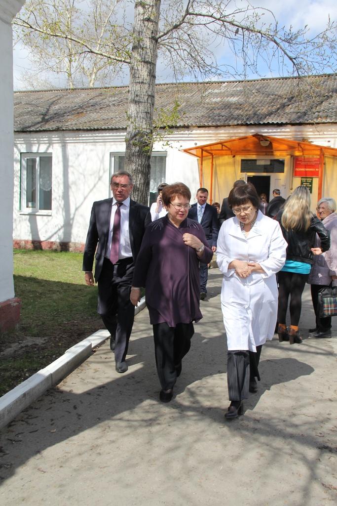 Выезд в Алтайский район