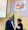 Обсуждение вопросов с Штыгашевым В. Н. , председателем Верховного Совета Республики Хакасия в переры