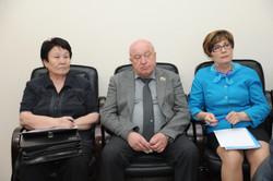 С координаторами партийных проектов