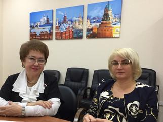Фото на память после рабочей встречи с Войновой И. И., министром финансов Хакасии