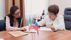 Встреча с министром культуры РХ
