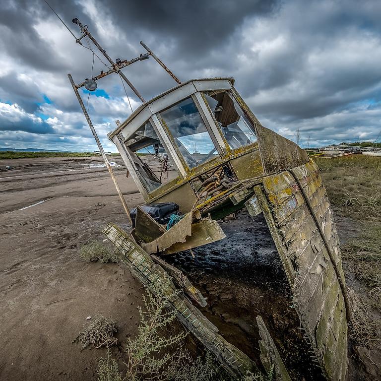 Boat Graveyard Photoshoot - Heswall