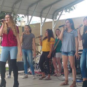 Show Band Rocks at Madera Luncheon
