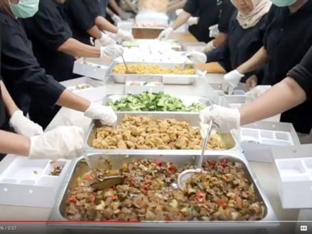 Proses Pembuatan dan Pengiriman 1500 Nasi box