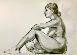 Sitting Nude 2