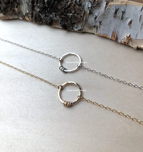 Dainty Ring III Necklace