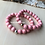 Thumbnail: Wood Bracelet - Blush Pink