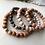 Thumbnail: Wood Beaded Bracelet - PKW
