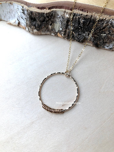 Dainty Ring Pendant