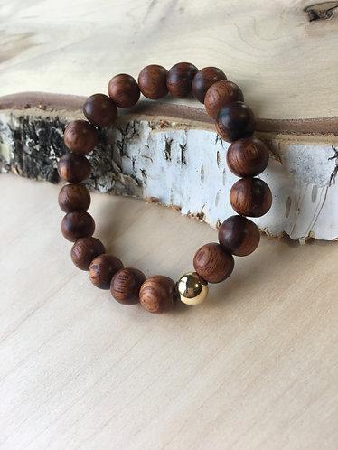 Bead Bracelet - Wood