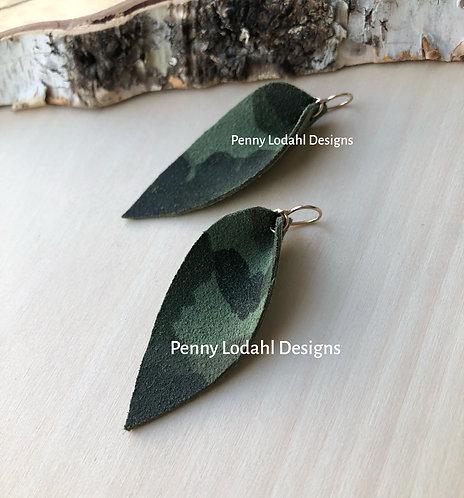 Leather Leaf - Camo