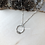Thumbnail: Dainty Ring Necklace
