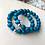Thumbnail: Wood Bracelet -Dark Blue
