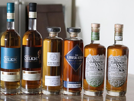 July 2021 - Currach, Liberator, and Silkie Tasting