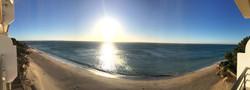 la plage en mars