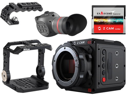 Z CAM F6 Kit with Z CAM EVF, 128GB CFast, Cage and Lil Handle