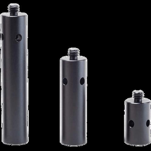"NITZE 15mm Aluminum Rod (1/2/3 inch) with 1/4"" Thread R15-1/4-KIT"