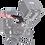 "Thumbnail: NITZE Stinger 3/8"" Arri Locating Pins Handle w/N40C Cold Shoe PA28-BK"