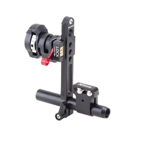 NITZE EVF Mount with NATO Rail and ARRI Rosette EVF-K03