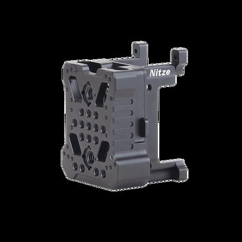 NITZE Universal V/Gold Mount QR Adapter w/SSD Holder for Z CAM E2-FS-SV4