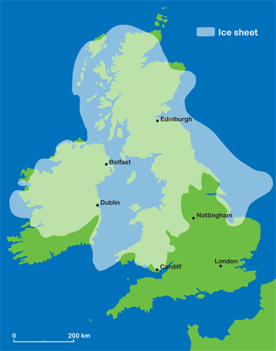 Ice Age Map Of The World.Ice Age Maps Ice Age Maps London